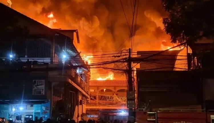首季度全柬共发生165起火灾事故