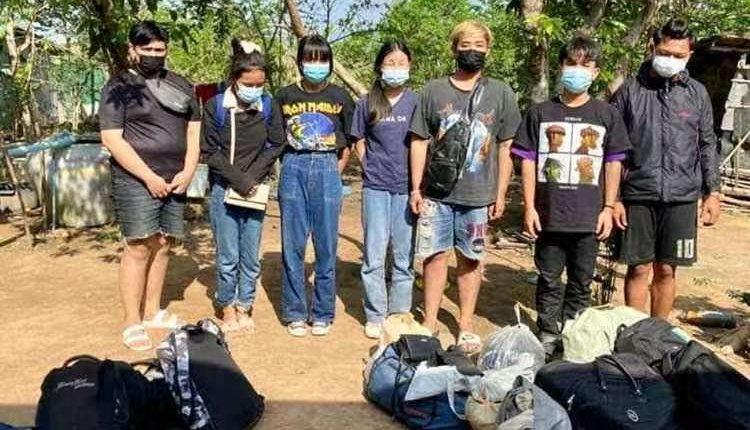 7名泰国人企图从柬偷渡回国被扣