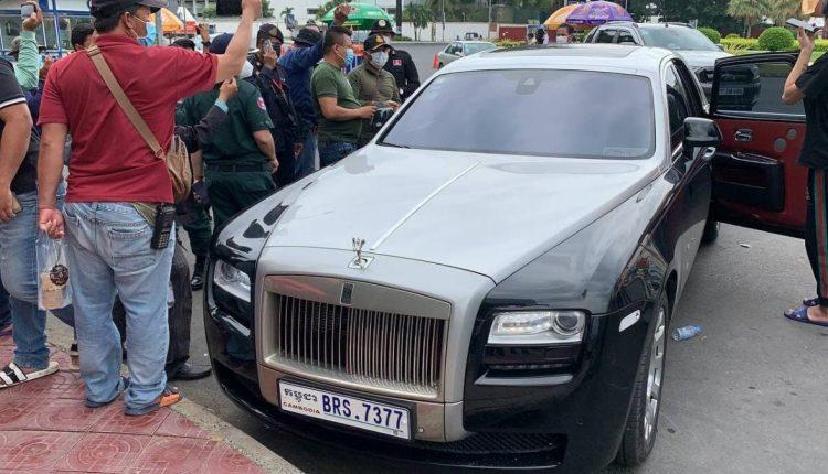 一军官开豪车带3名中国人跨区流动被捕