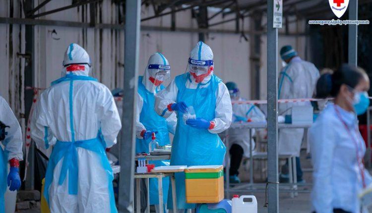 柬埔寨新增880例社区感染病例