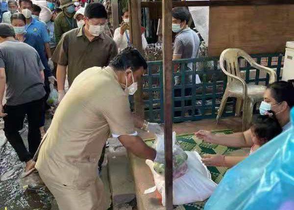 林列华阁下慷慨解囊捐助疫区贫困家庭