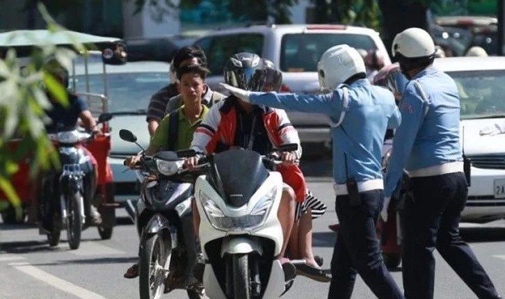 今年已有逾7万辆违规车被罚