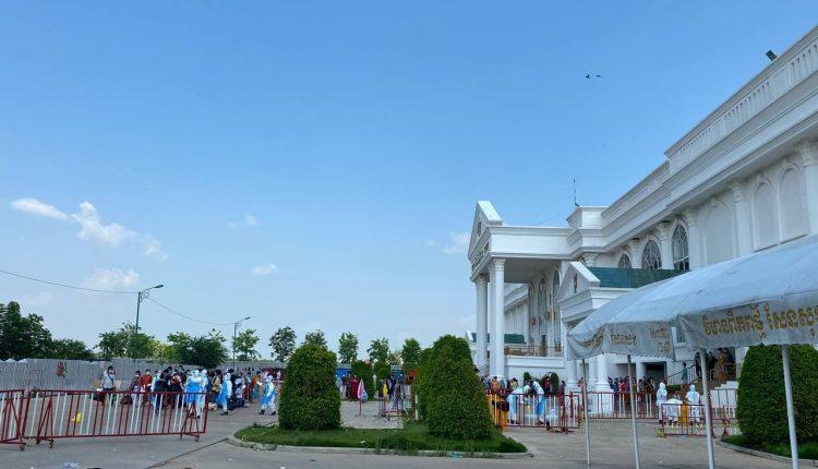 新世界宫殿收治点311名患者治愈出院