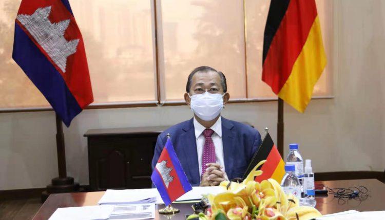 德国承诺年内向柬提供5300万欧元的无偿贷款