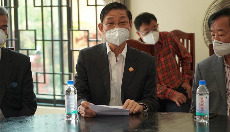 广东惠州市侨联携手柬华理事总会、林氏宗亲总会捐助防疫物资助力柬政府抗击疫情 (3)
