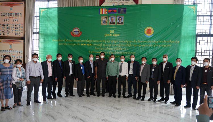 广东惠州市侨联携手柬华理事总会、林氏宗亲总会捐助防疫物资助力柬政府抗击疫情 (5)