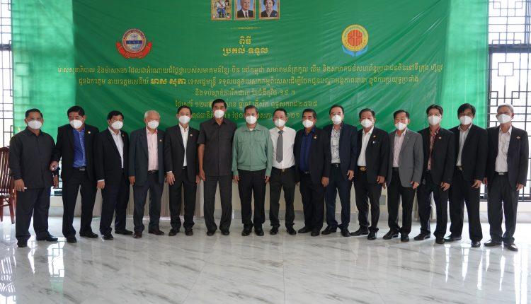广东惠州市侨联携手柬华理事总会、林氏宗亲总会捐助防疫物资助力柬政府抗击疫情 (7)