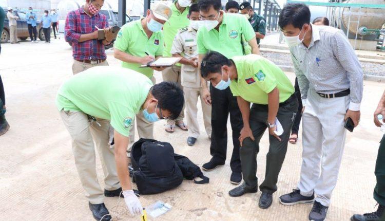马德望城佳河水质被污染 (2)