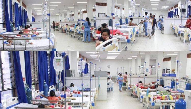 坤塔宝花儿童医院4月份免费治疗2万余儿童