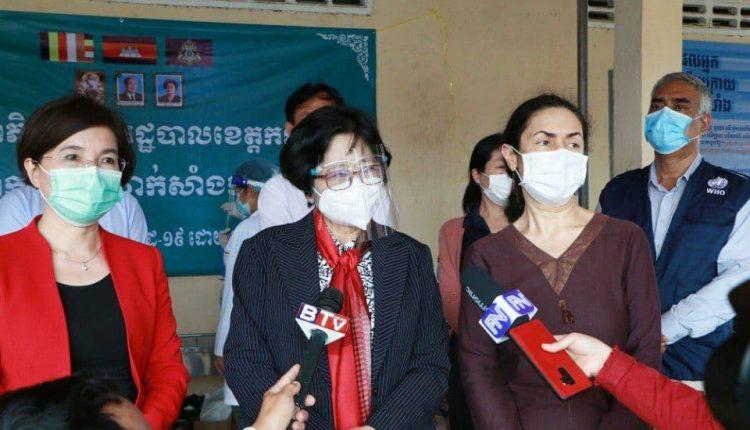 全国疫苗接种委员会主席奥婉丁女士 (1)