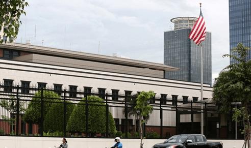 美国驻柬大使馆