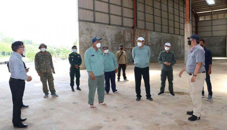 奥多棉芷省再建2座隔离中心