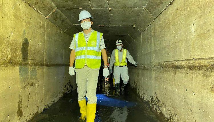隆边区排水站已建成98%