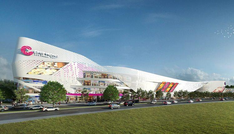 集茂271超级商场项目建设正如火如荼