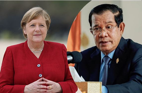 洪森总理就德国遭遇洪灾向默克尔总理致慰问电