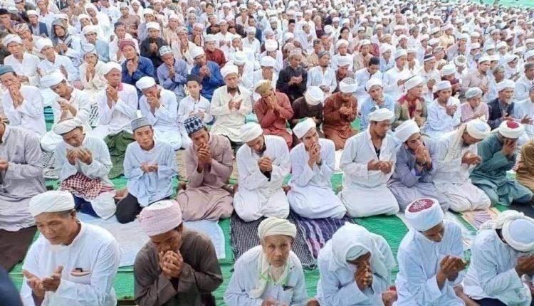 上半年206名穆斯林和基督徒确诊新冠