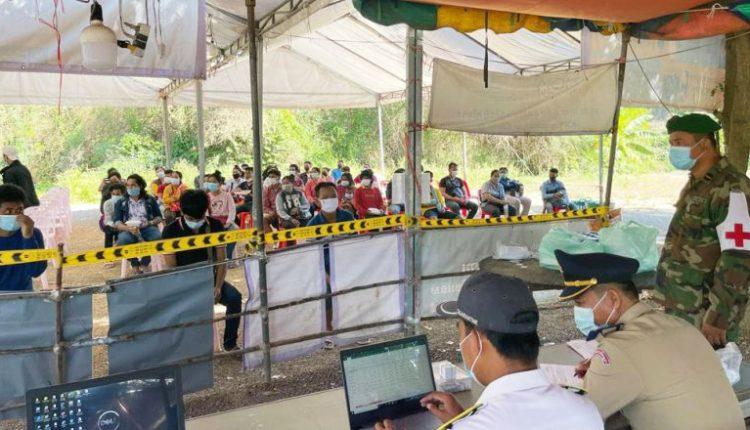 累计约9000名柬劳工在泰国确诊