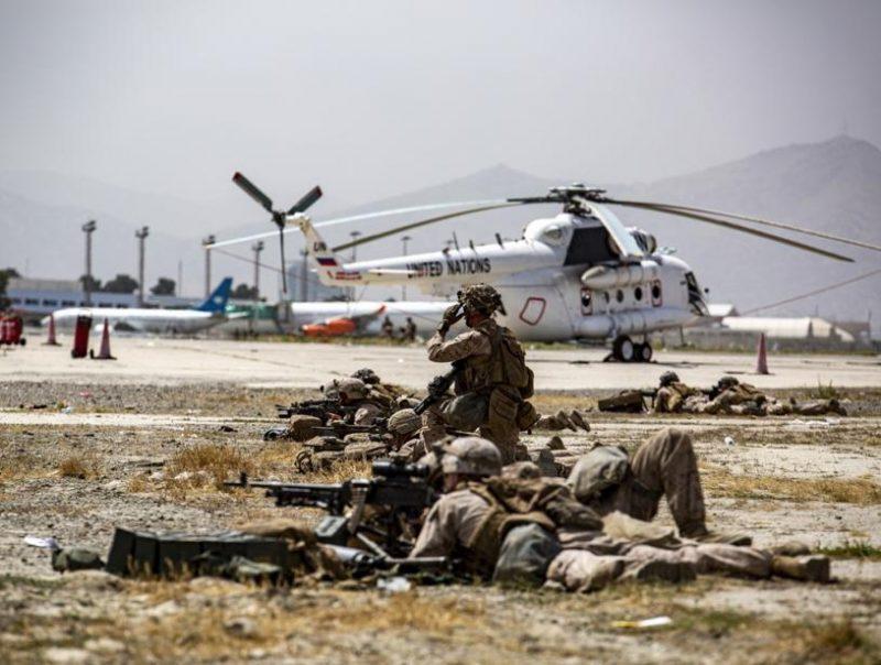 """美国出手报复了!美军空袭""""伊斯兰国""""阿富汗分支"""