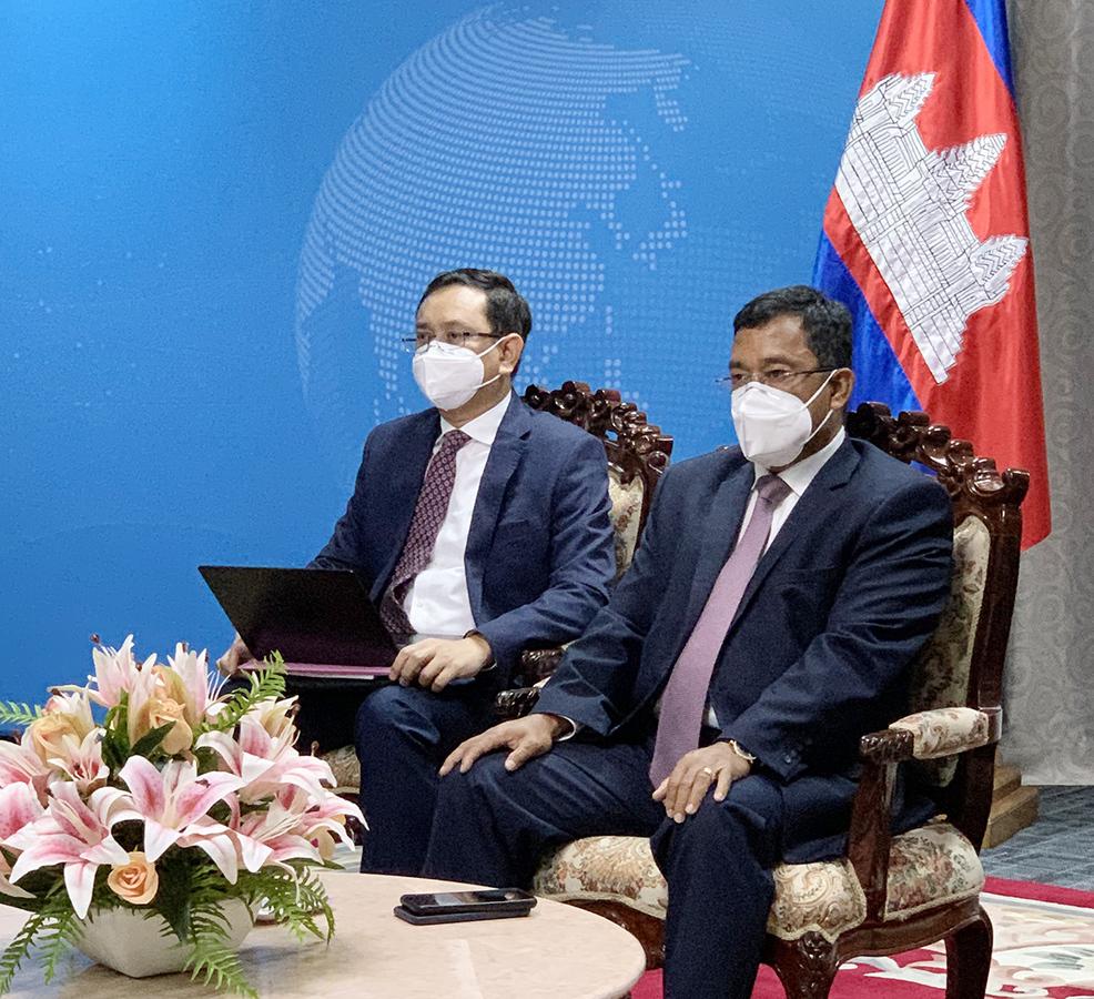 柬土两国在线举办商业论坛