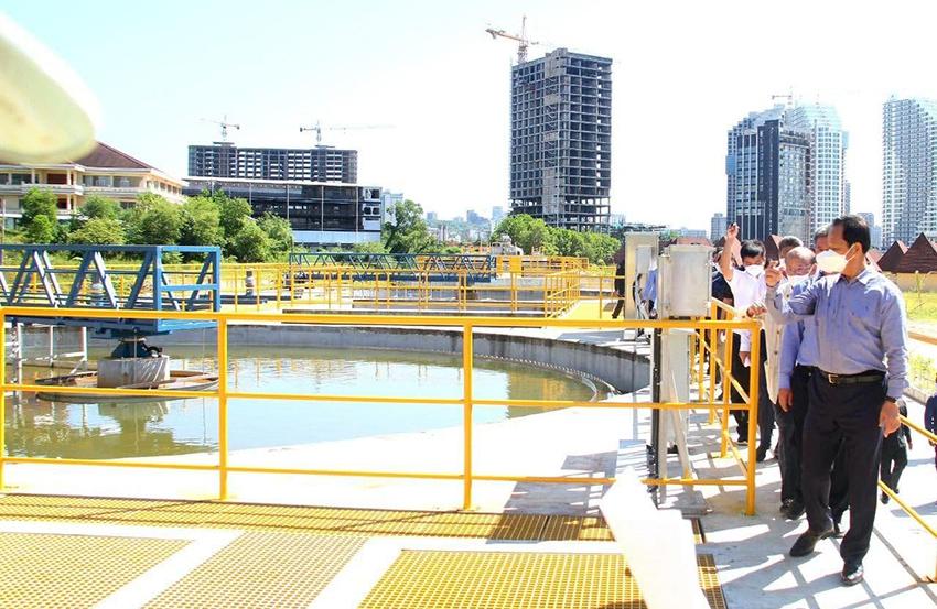 西港第三座污水处理厂动工 日均可处理2万立方米污水