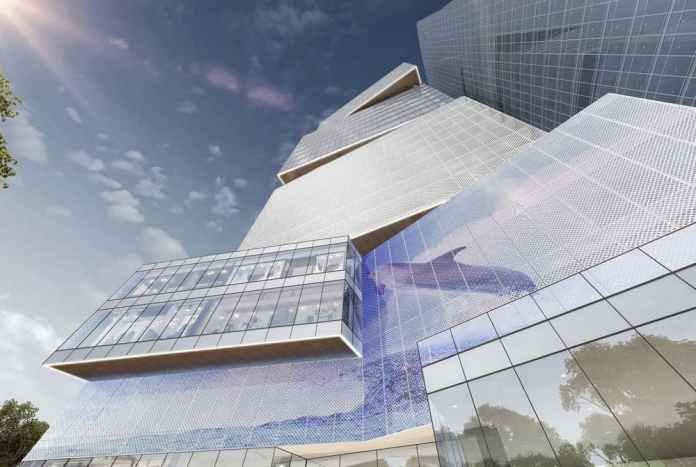 斥资约1.5亿美元的集茂大厦已建成80%