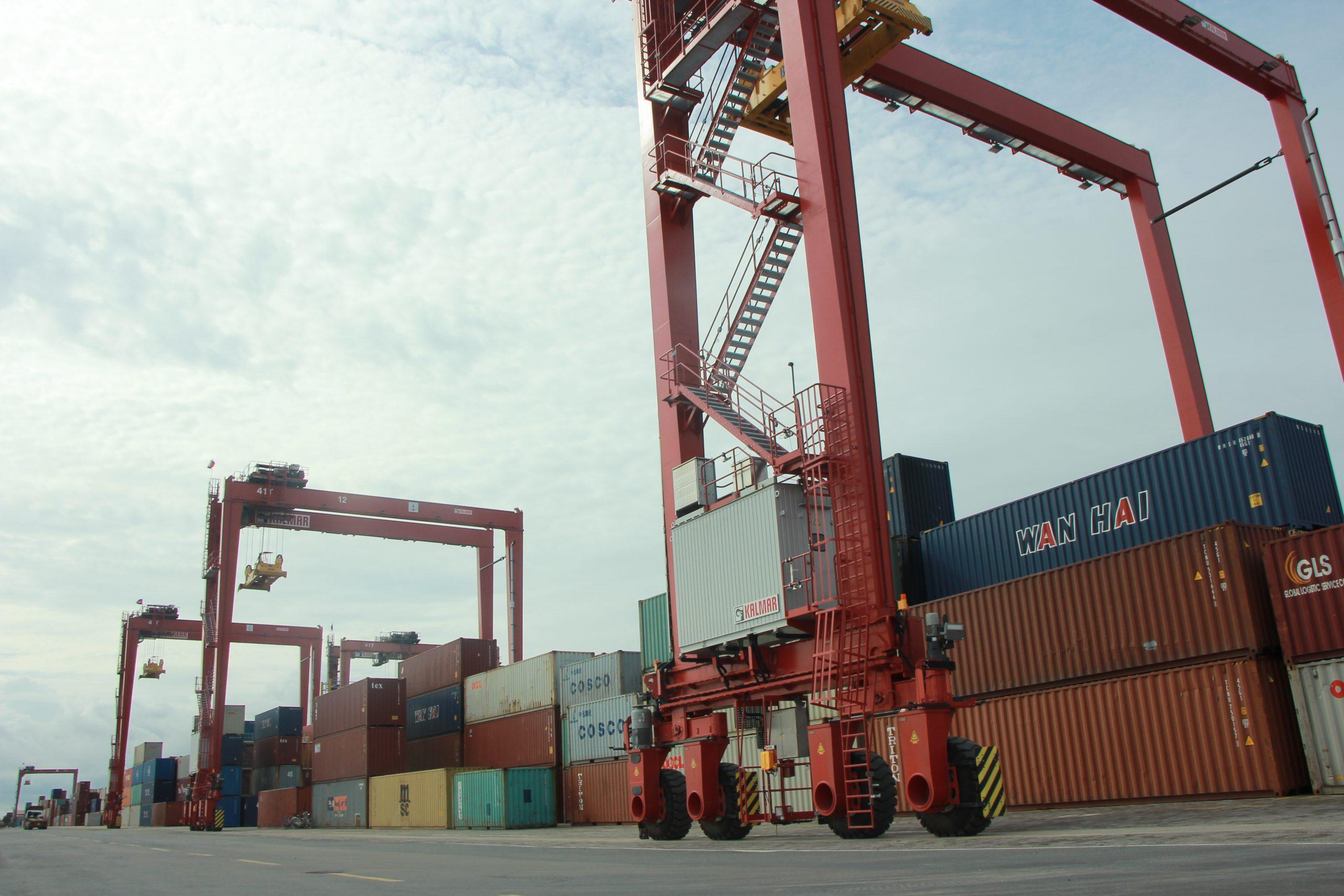 金边自治港LM17集装箱堆场完成再度扩容