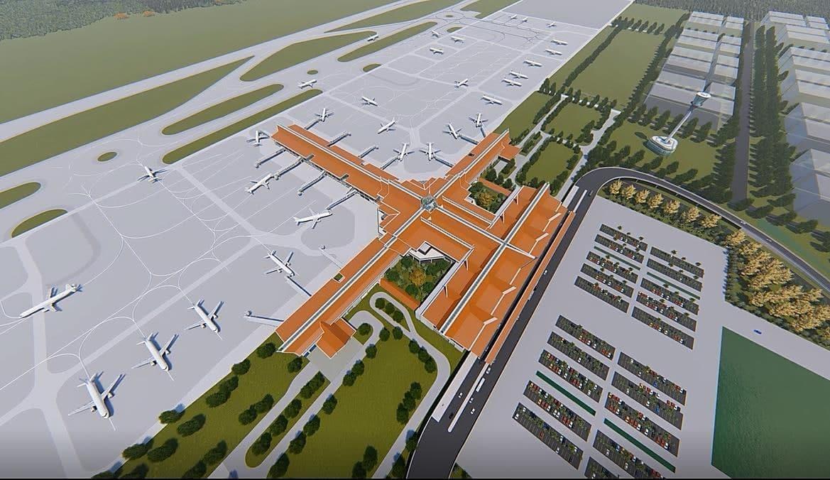 七星海国际机场将于10月竣工