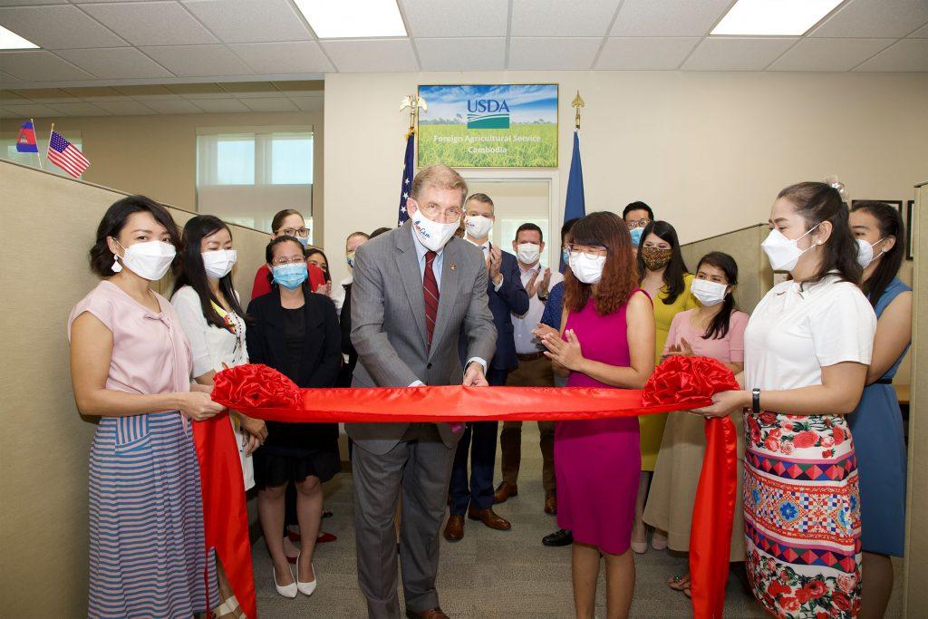 美国USDA驻柬办公室正式成立  将促进两国农贸领域合作