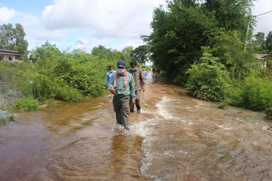 全国5省遭遇洪灾袭击