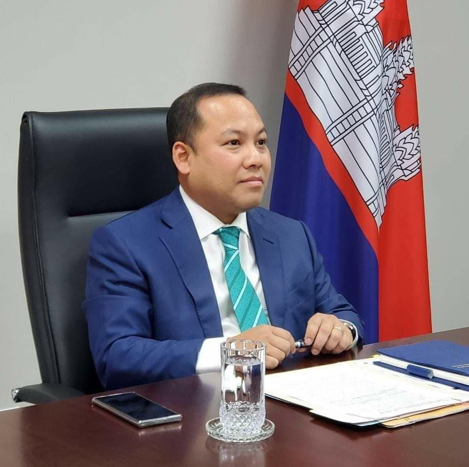 前任柬埔寨驻韩大使出任西哈努克省副省长