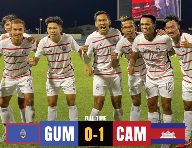 亚洲杯预选赛附加赛打响 柬国足晋级将获10万美元奖励