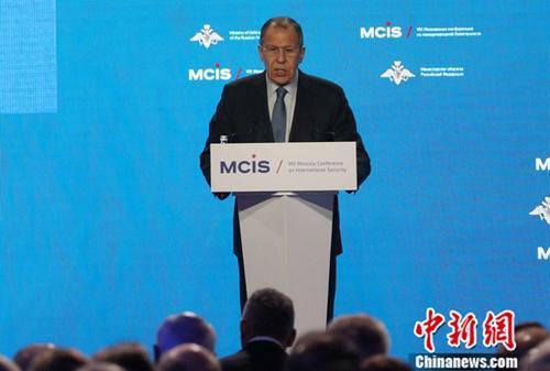 俄外长:俄罗斯认为,台湾是中国的一部分